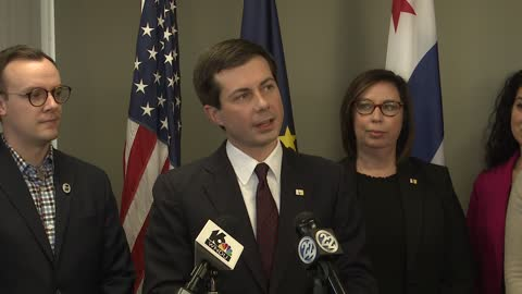 Mayor Pete Buttigieg announces he will not seek third term